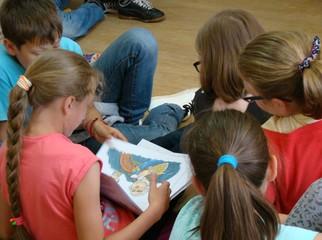 Dnia 16 czerwca 2016r. w Gminnej Bibliotece Publicznej w Horyńcu-Zdroju w ramach spotkań z młodym czyt