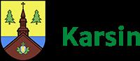 Logo Urząd Gminy Karsin