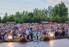 Tegoroczny Koncert Inauguracyjny zgromadził wyjątkowo liczną publiczność. (link otworzy duże zdjęcie)