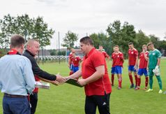 Podziękowania dla trenera Andrzeja Borowskiego.