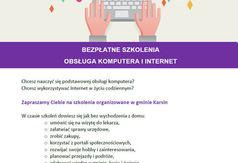 Darmowe szkolenia z obsługi komputera i internetu.