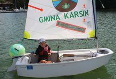 Zakończenie sezonu żeglarzy z gminy Karsin. (link otworzy duże zdjęcie)