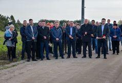 W uroczystości uczestniczyło wielu mieszkańców Zamościa i Białego Błota. (link otworzy duże zdjęcie)