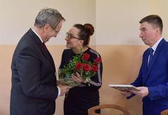 Podziękowania od samorządu Gminy Karsin dla senatora Stanisława Lamczyka. (link otworzy duże zdjęcie)