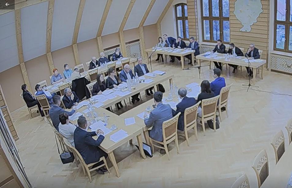 Sesja Rady Gminy Karsin (link otworzy duże zdjęcie)