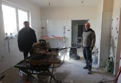 Powoli kończą się prace modernizacyjne w zapleczu kuchennym Domu Kultury w Wielu.
