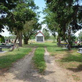 Kaplica na cmentarzu w Kuklówce