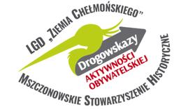 Logo projektu Drogowskazy Aktywności Obywatelskiej na Ziemi Chełmońskiego