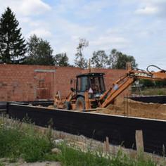 Budowa przedszkola w Radziejowicach - postęp prac (link otworzy duże zdjęcie)