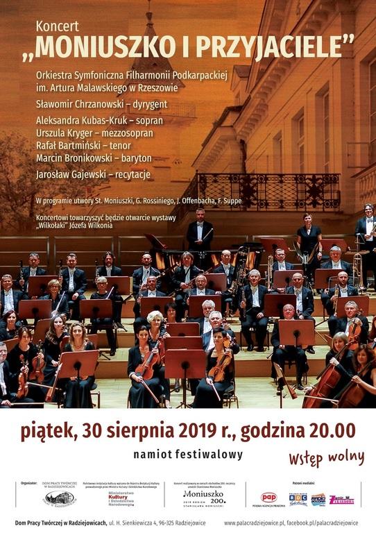 Koncert w Pałacu w Radziejowicach Moniuszko i Przyjaciele (link otworzy duże zdjęcie)