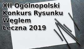 Konkurs rysunku węglem Łęczna 2019
