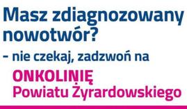 Infolinia onkologiczna żyrardowskiego szpitala