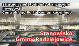 Stanowisko Gminy Radziejowice w sprawie projektu