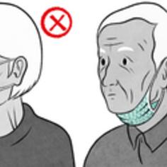 Jak nosić maseczkę (link otworzy duże zdjęcie)