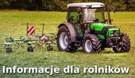 Informacje dla rolników - pomoc suszowa