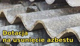 Ilustracja - płyty eternitowe zawierające azbest