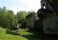 Śluza Leśniewo Górne na Kanale Mazurskim
