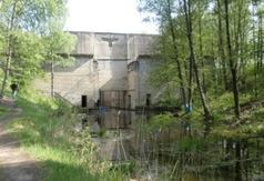 Śluza na Kanale Mazurskim Leśniewo Górne