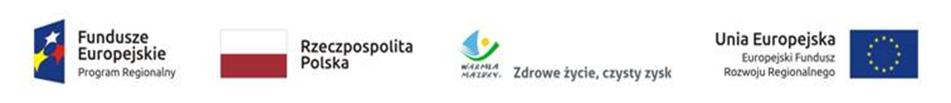 Na zdjęciu znajdują się logotypy dot. projektu tj. od lewej Fundusze Europejskie Program Regional (link otworzy duże zdjęcie)