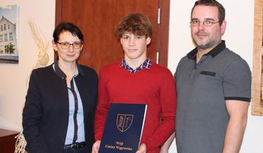 Stypendium sportowe dla Igora Szymańskiego
