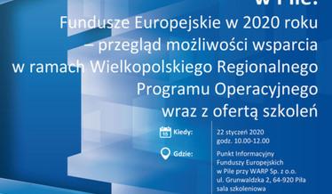 Plakat informacyjny o spotkaniu