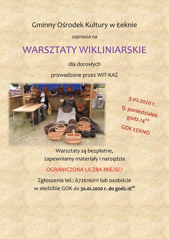 Warsztaty wikliniarskie (link otworzy duże zdjęcie)