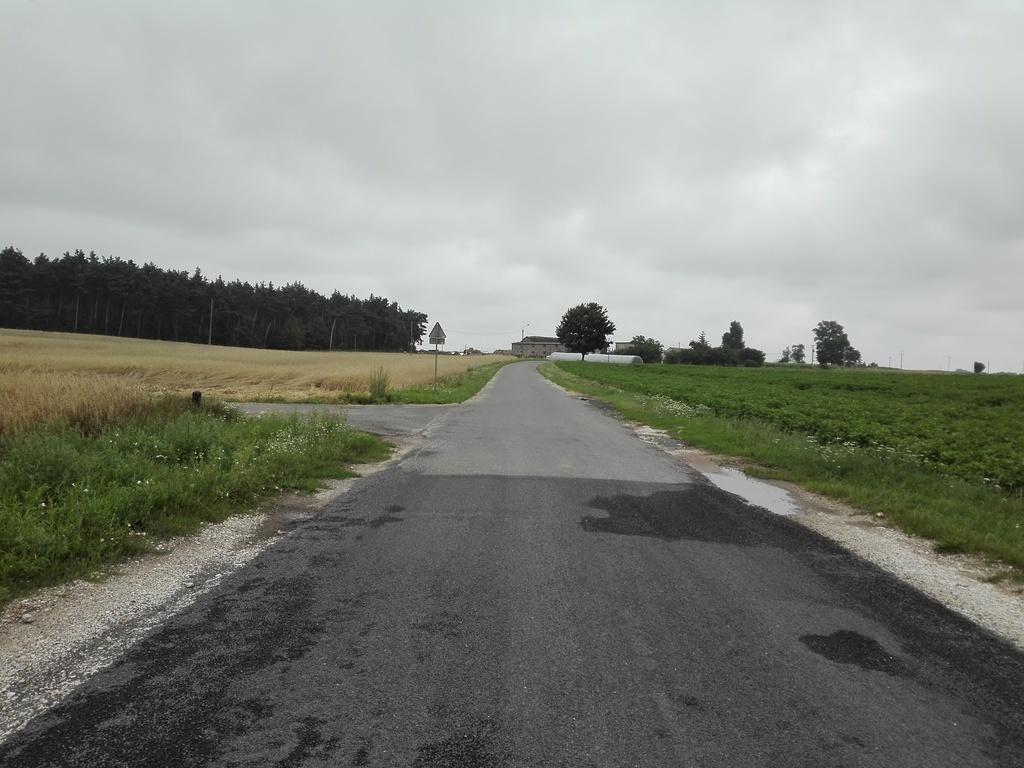 Widok drogi po zakończeniu zadania