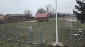 Widok placu przed rozpoczęciem budowy
