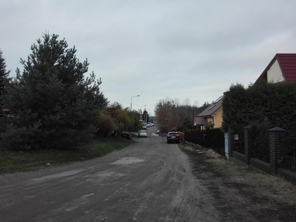 widok ulicy przed rozpoczęciem prac
