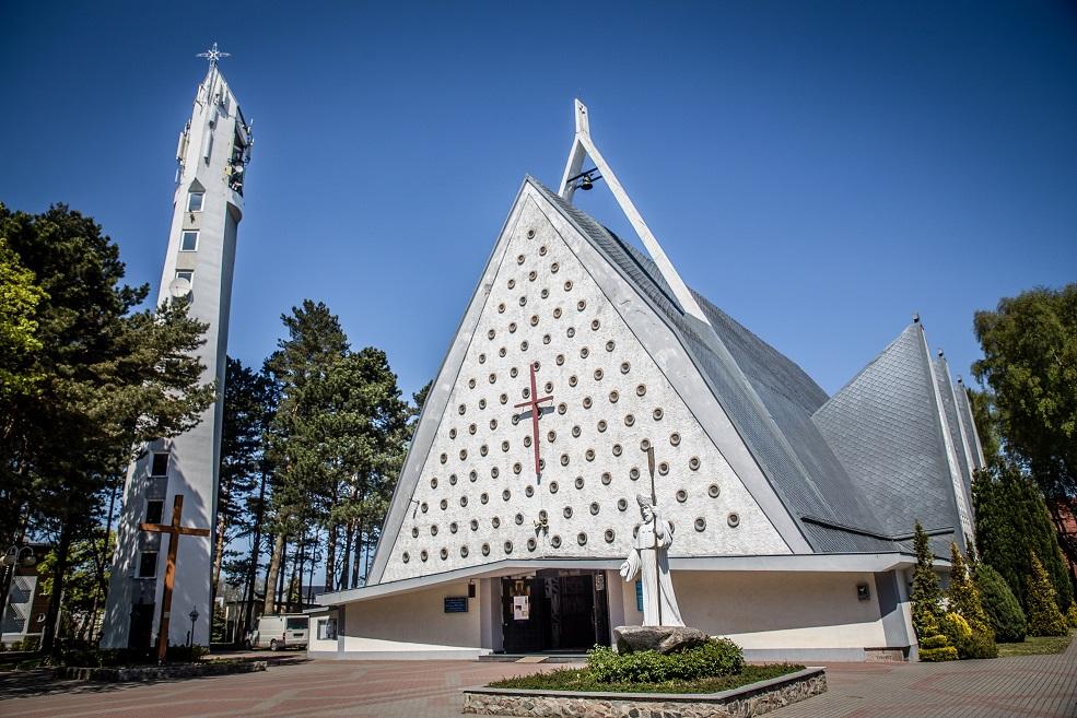 Widok Kościoła z zewnątrz
