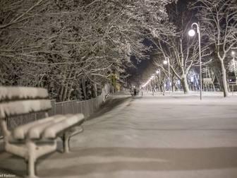 Ławka przy trakcie spacerowym przy Alei Żeromskiego i Ośrodku Przygotowań Olimpijskich Cetniewo we W�