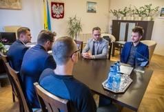 Spotkanie organizatorów plebiscytu z zastępcą Burmistrza, przedstawicielem CKPiS oraz Rzecznikiem