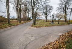 Skrzyżowanie przy ul. Droga Chłapowska we Władysławowie