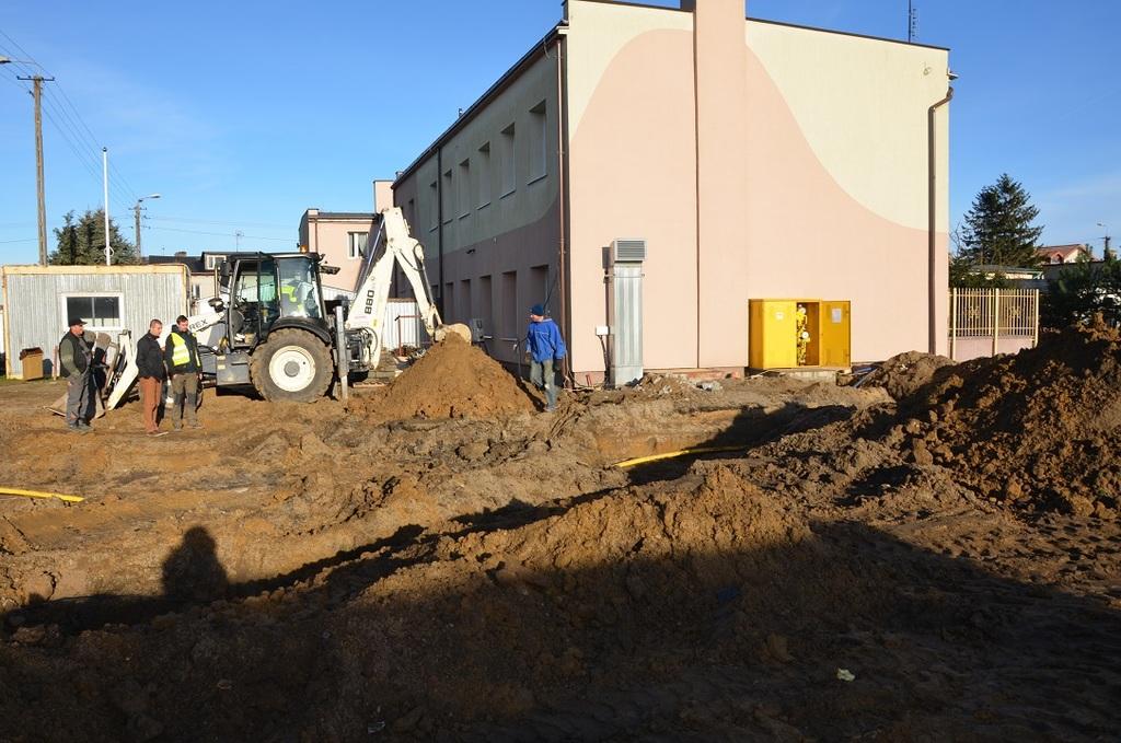 Rozbudowa Szkoły Podstawowej w Chłapowie (link otworzy duże zdjęcie)