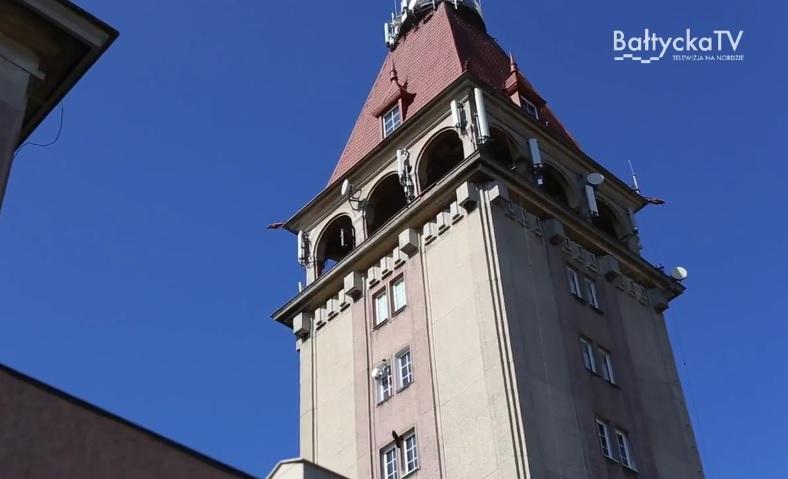 Wieża widokowa Domu Rybaka - zdjęcie z programu Bałtycka TV Tu i Teraz (link otworzy duże zdjęcie)