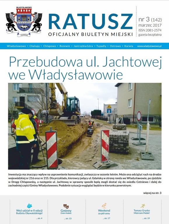 Biuletyn Ratusz - okładka Marzec (link otworzy duże zdjęcie)