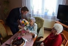 99. urodziny Pani Małgorzaty Ścigała
