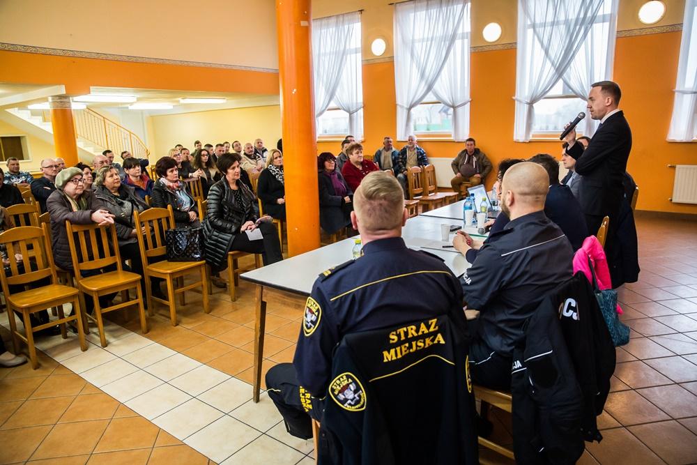 Zebranie Burmistrza z mieszkańcami sołectwa Chłapowo (link otworzy duże zdjęcie)