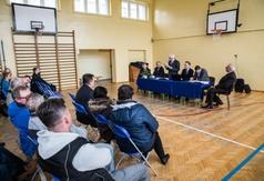 Zebranie Burmistrza z mieszkańcami osiedla Szotland