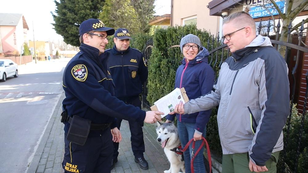 Akcja Straży Miejskiej Twój Pies (link otworzy duże zdjęcie)