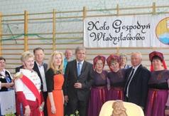 Gospodynie z Władysławowa na wojewódzkim turnieju Kół Gospodyń Wiejskich w Luzinie