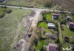 Budowa ul. Harcerskiej w ramach Budżetu Obywatelskiego 2016