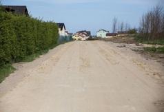 Wybudowana przy użyciu płyt YOMB ul. Harcerska we Władysławowie