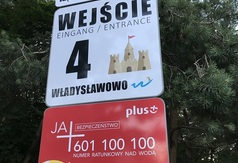 Nowe oznakowanie wejść na plażę w Gminie Władysławowo