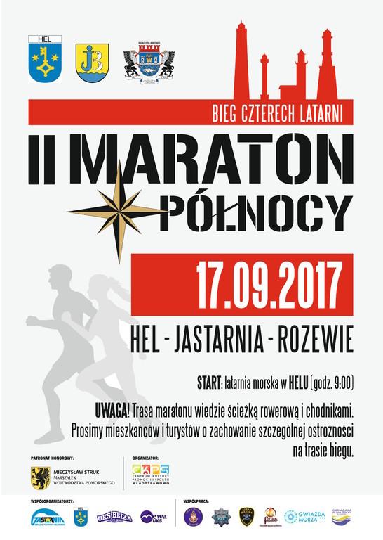 II Maraton Północy, Bieg Czterech Latarni, Hel - Jastarnia - Rozewie (link otworzy duże zdjęcie)