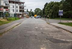 Ulica Hryniewieckiego we Władysławowie - 14 września 2017 roku