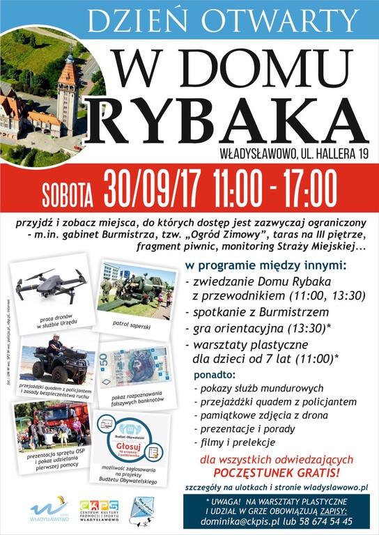 Dzień Otwarty 2017 w Domu Rybaka we Władysławowie (link otworzy duże zdjęcie)