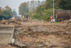 Przebudowa ul. Żwirowej we Władysławowie (17 października)