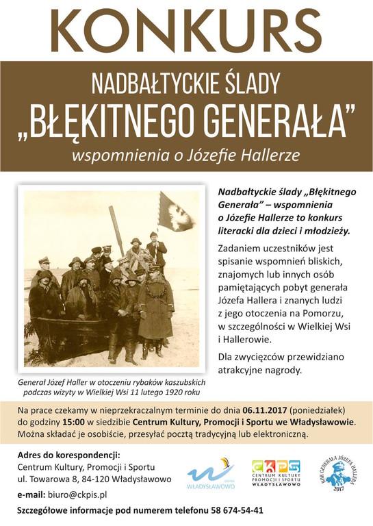Józef Haller w otoczeniu swojej świty i kaszubskich rybaków podczas pobytu w Wielkiej Wsi 11.02.1920 r