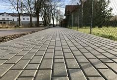 Trwa budowa chodnika i oświetlenia przy Drodze Chłapowskiej we Władysławowie - 23 listopada 2017